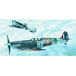 Supermarine Spitfire MK.VB 1:72 Směr plastikový model letadla ke slepení