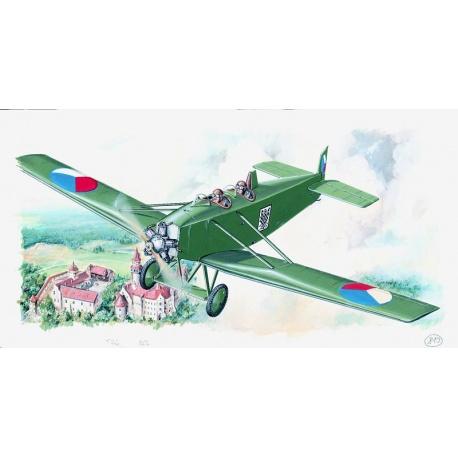 Avia BH 11 1:48 Směr plastikový model letadla ke slepení