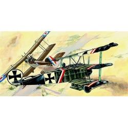 Fokker Dr.1 1:48 Směr plastikový model letadla ke slepení