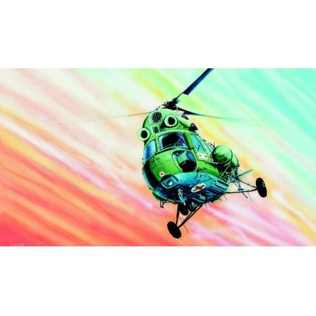 Vrtulník Mi 2 1:48 Směr plastikový kliklak model