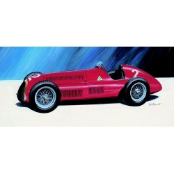 Alfa Romeo 1:24 Směr plastikový model auta ke slepení