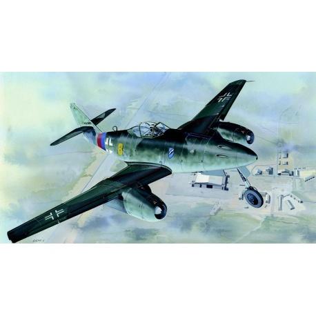 Messerschmitt Me 262 A 1:72 Směr plastikový model letadla ke slepení