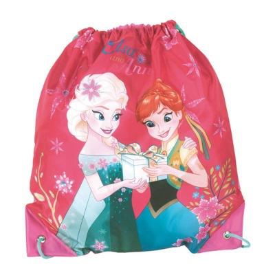 Školní pytel vak sáček růžový Frozen Ledové království
