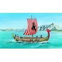 Viking 1:60 Směr plastikový model loď ke slepení