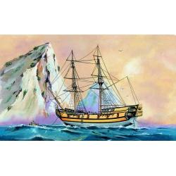 Směr plastikový model loď ke slepení Black Falcon 1:120