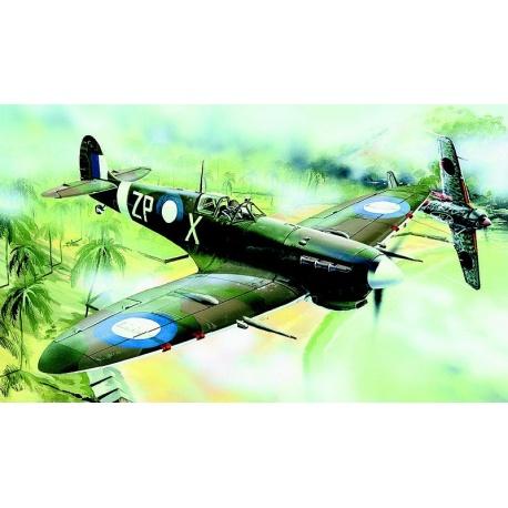 Supermarine Spitfire MK.Vc 1:72 Směr plastikový model letadla ke slepení
