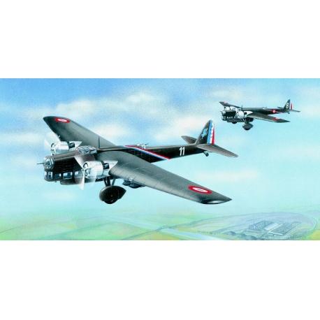 Amiot 143 1:72 Směr plastikový model letadla ke slepení