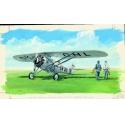 Morane Saulnier MS 230 1:72 Směr plastikový model letadla ke slepení