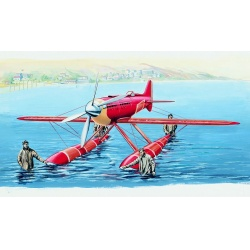 Macchi M.C. 72 1:48 Směr plastikový model letadla ke slepení