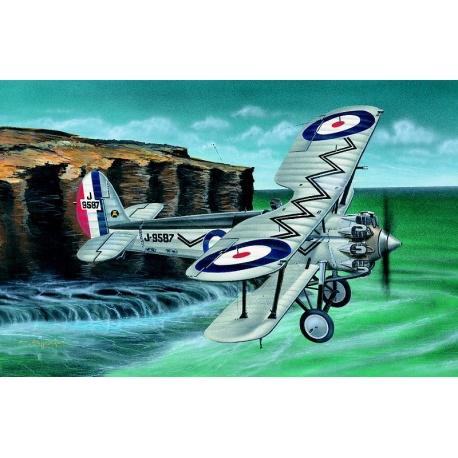 Bristol Bulldog 1:48 Směr plastikový model letadla ke slepení