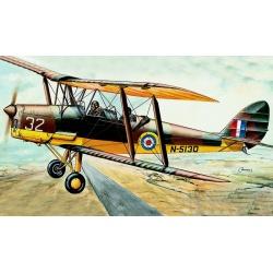 """D.H. 82 """"Tiger Moth"""" 1:48 Směr plastikový model letadla ke slepení"""