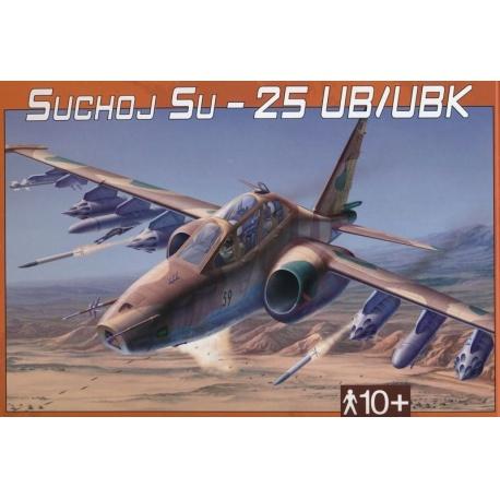 Suchoj SU-25 UB-UBK 1:48 Směr plastikový model letadla ke slepení