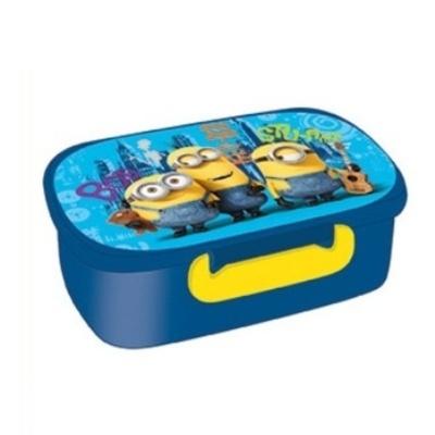 Svačinový box Mimoň - modrý