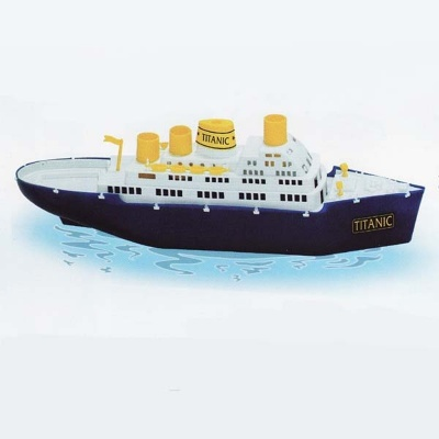 Dopravní loď velká Titanic 50cm