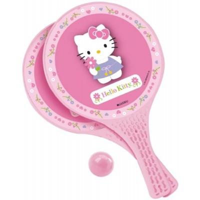 Pálky a míček plážový tenis Hello Kitty