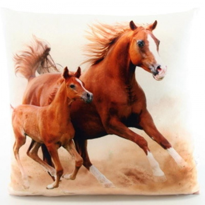 Polštářek Koně 33x33 cm