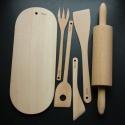 Sada dřevěné náčiní do kuchyně - Lenka