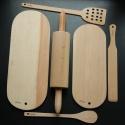 Sada dřevěné náčiní do kuchyně - Adélka