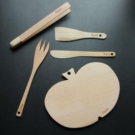 Sada dřevěné náčiní do kuchyně - Zdenka