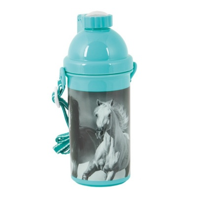 Plastová láhev 500ml Koně