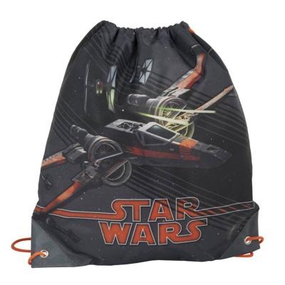 Školní pytel vak sáček oranžový Star Wars Hvězdné války