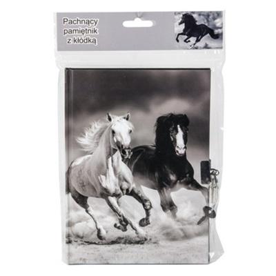 Notes se zámkem - Koně