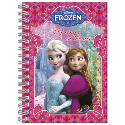 Spiralový blok A6 Frozen - Ledové království
