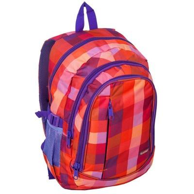 Studentský batoh tříkomorový kostka