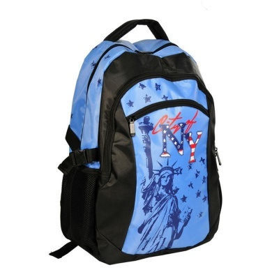 Studentský batoh dvoukomorový New York