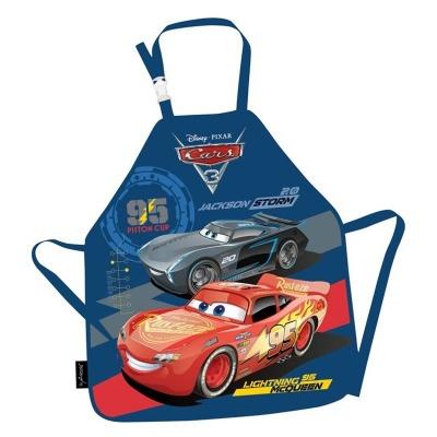 Zástěrka Cars - Auta modrá