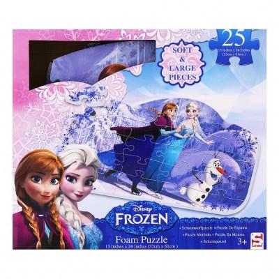 Pěnové puzzle - podložka - Frozen