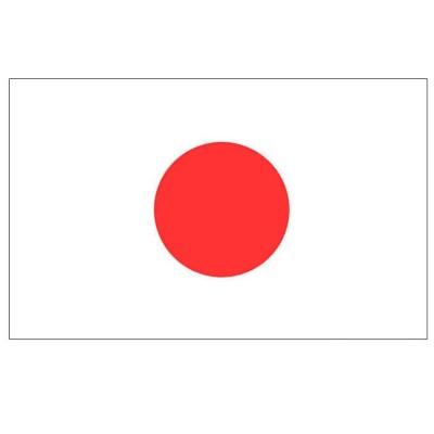 Vlajka Japonsko 150 x 90 cm