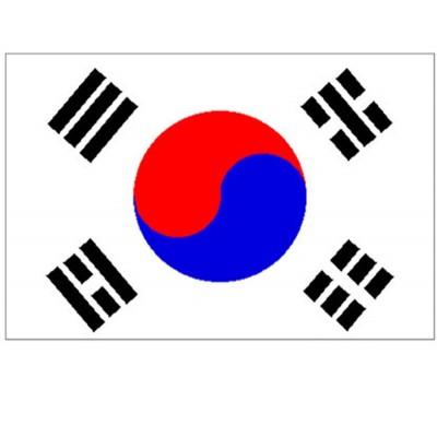Vlajka Jižní Korea 150 x 90 cm