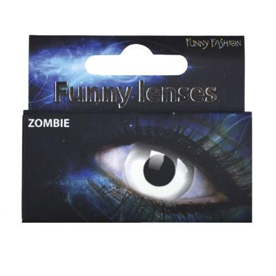 Barevné kontaktní čočky Zombie