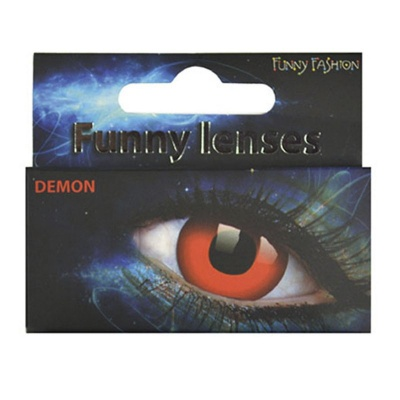 Barevné kontaktní čočky Démon