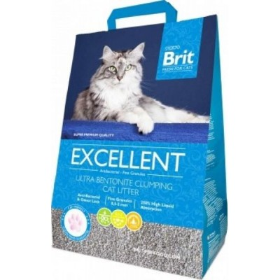 Podestýlka Brit Fresh for CatsExcellent Ultra Bentonite 10kg