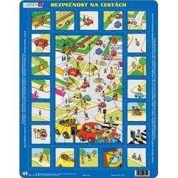 Puzzle Larsen - Bezpečnost silniční dopravy