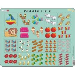 Puzzle Larsen - Počítání pro nejmenší s obrázky