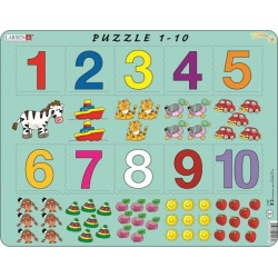 Puzzle Larsen - Počítání pro nejmenší s čísly