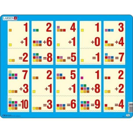 Puzzle Larsen - Počítání do 10
