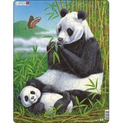 Puzzle Larsen - Panda s mládětem