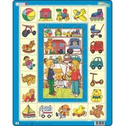 Puzzle Larsen - Přiřaď k sobě - hračky