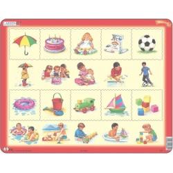 Puzzle Larsen - Kombi puzzle