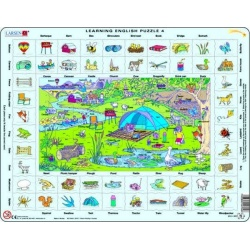 Puzzle Larsen - Hodina angličtiny 4
