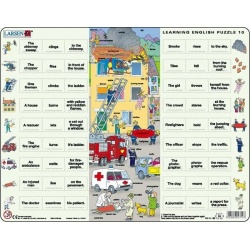 Puzzle Larsen - Hodina angličtiny 10