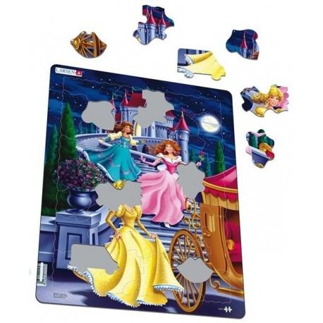 Puzzle Larsen - princezny