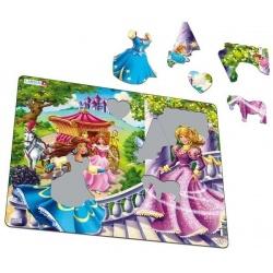 Puzzle Larsen - Princezny a víly