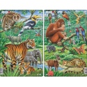 Puzzle Larsen - sada 2ks - asijská zvířata