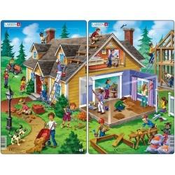 Puzzle Larsen - sada 2ks - dům