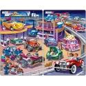Puzzle Larsen - sada 2ks - auta